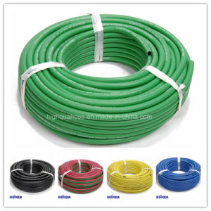 Fiber Braid Flexible Hose Smooth Surface Rubber Water Hose pictures & photos
