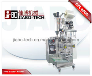Triplet Shampoo+Conditioner+Lotion Sachet Packing Machine (SPL400T) pictures & photos