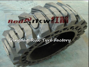 31*6*10 Solid Tyre, Forklift Skid Steer for Solid for Single Bucket Excator pictures & photos
