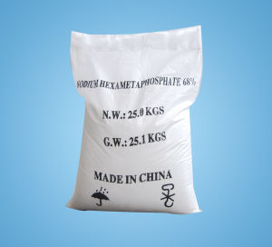 Sodium Hexametaphosphate Food Grade SHMP Food Grade pictures & photos