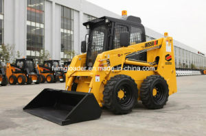 Ws50 Skid Steer Loader, Mini Skid Steer with Planer and Mini Dumper