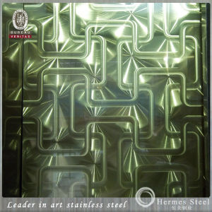 201 304 Patterned Polishing Laser Stainless Steel Sheet for CD Circle pictures & photos