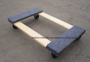 300kgs Capacity Wood Moving Dolly for Electrical Equipment, Furniture