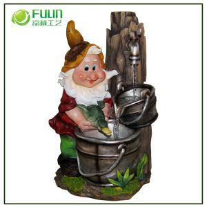 Resin Outdoor Water Fountain Decoration (NF14125-1)
