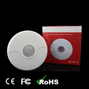 Motion Detector of Ceiling Dual-Tech PIR & Microwave pictures & photos