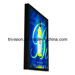 Small Size Ultra Slim Scrolling System Advertising Aluminium Light Box pictures & photos