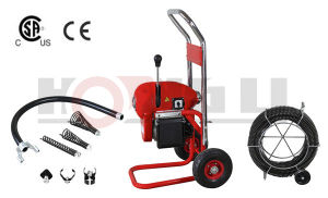 "8"" Drain Cleaner/ Pipe Drain Cleaning Machine with Cable (D200A) pictures & photos"