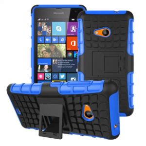 Plastic Armor Cell Phone Case for Microsoft Lumia 535