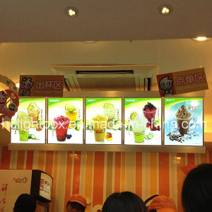 Hot Sales LED Illuminated Menu Light Boxes