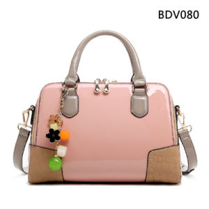 New Fashion Stylish Mirror PU Handbag (BDM020) pictures & photos