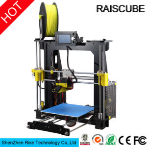 Raiscube New Design Acrylic Reprap Prusa I3 DIY 3D Printer for Ce SGS
