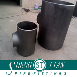 "Carbon Pipe Fittings Seamless Elbow Tee (1/2""-72"" SCH10-SCH160) pictures & photos"