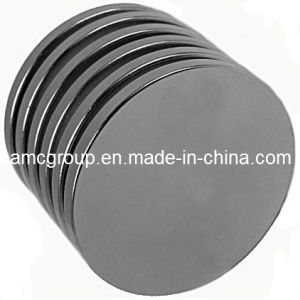 Nm-70 Zinc-Plate NdFeB Magnet Disc From China Amc pictures & photos