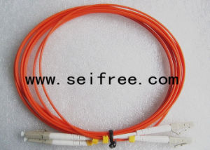LC Duplex Optical Patchcord with Multi Mode pictures & photos