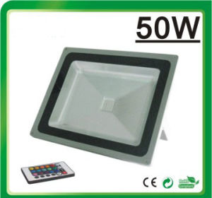 RGB LED Flood Light LED Floodlight (Remote Controller 50W) pictures & photos