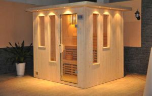 Finland Pine Wooden Traditional Sauna Room (A-202) pictures & photos
