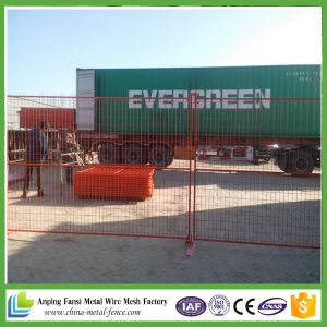 2016 Hot Sale China Supplier Construction Sites Temporary Fencing Rental