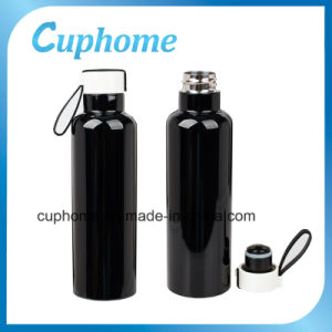 Graceful Double Wall Stainless Steel 20oz Vacuum Water Flask
