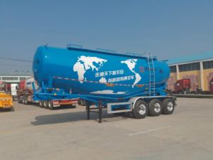 Heavy Duty Tri-Axles Bulk Powder Semi Trailer for Sale