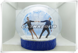 Hot Sale Clear Inflatable Snowglobe Tent for Party