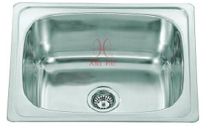 Laundry Sink, Single Stainless Steel Sink (A28) pictures & photos