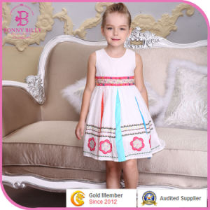 a23599a7ae762 China 100% Embroidered Girls Cotton Dress
