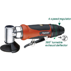 2-1/2′′ Air Angle Grinder with Swivel Metal Guard pictures & photos
