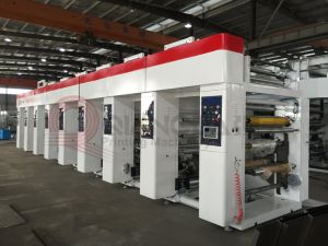 High Speed Rotogravure Printing Machine for Plastic Film pictures & photos