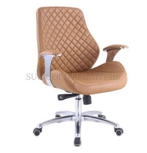 Foshan Office Chair Factory Leather High Back Office Executive Chair pictures & photos