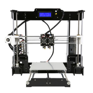 Anet A8-M New Dual Extruder DIY 3D Printer