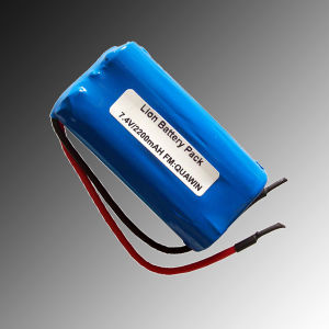 Hot Sell 18650 Li-ion Battery Pack 2s1p 7.4V Battery 2200mAh