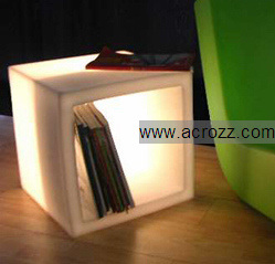 Outdoor Garden Party Illuminated Lighting Cube LED Furniture Stool pictures & photos