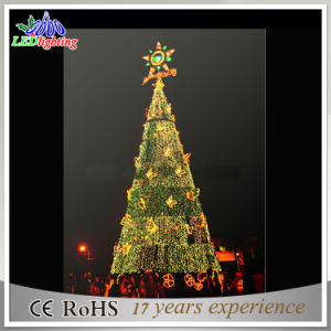 huge event decor led spiral rope light pvc christmas tree