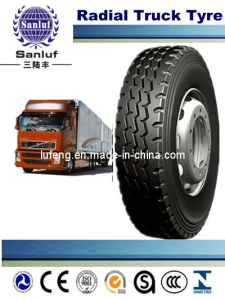 Radial Truck Tire (385/65R22.50) with DOT, ECE, Gcc, Soncap