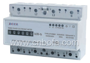 Three Phase Din Rail Energy Meter Type (DTS999D)