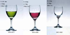 Lead-Free Crystal Glass Stemware Set for Wine Drinking (TM0144511) pictures & photos