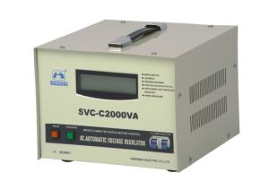 SVC-C(LCD display) Voltagae Stabilizer(AVR) pictures & photos