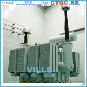 500kv Single Phase Self-Coupling Three Winding Load Voltage Regulating Oil-Immersed Power Transformer pictures & photos