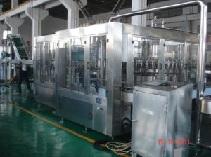 Tea Juice Hot Filling Production Line Washing, Filling, Capping 3-in-1 Monobloc Filling Machine pictures & photos