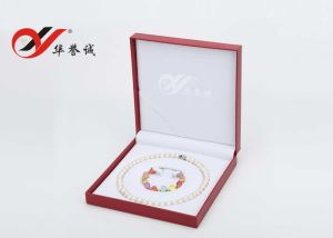 PU Leather Pearl Jewelry Set Box pictures & photos