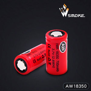 Hot Sale Universal Aw18350 700mAh 3.7V Lithium Titanate Dry Battery