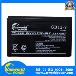 Lead Acid battery 12V 9ah AGM VRLA UPS Battery for Emergency Lighting System pictures & photos