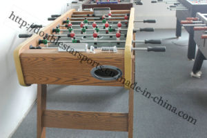 Hot Sale High Quanlity Wooded Color Football Soccer Table pictures & photos