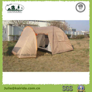 4 Person 2 Layer Camping Tent with a Living Room pictures & photos
