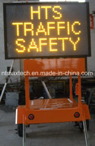 Trailer Mount Solar Powered Message Traffic Sign Solar Powered Maintenance Free pictures & photos