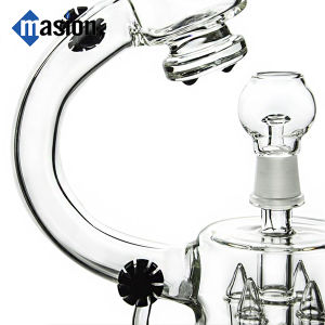 Microscope Shape Recycler Glass Smoking Water Pipe (EY 004) pictures & photos