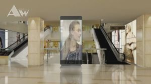P3.91 Indoor Glass High Transparent LED Display pictures & photos
