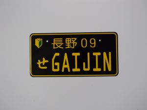 Gov Tender Car License Plates, Aluminum Car Number Plates pictures & photos