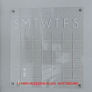 Yearly /Monthly/ Weekly Magnetic Dry Erase Calendar/Planner Writing/ Memo Board with SGS En71/72/73