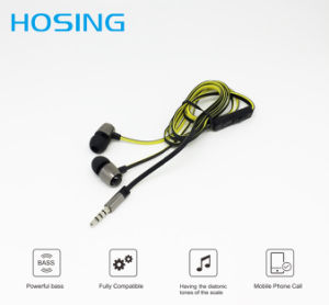 Best Selling Custom Logo Wired Stereo Earbuds